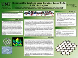 Biocompatible Graphene-based Growth of Cancer Cells: A Work in Progress