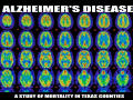 A Study of Alzheimer's Disease in Texas Counties