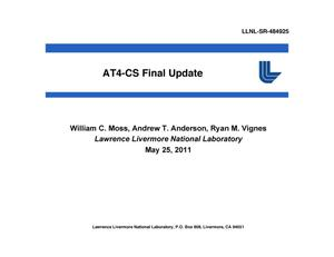 Primary view of object titled 'AT4-CS Final Update'.