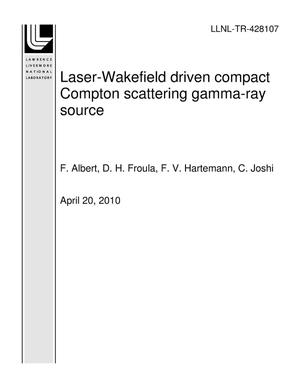 Primary view of object titled 'Laser-Wakefield driven compact Compton scattering gamma-ray source'.