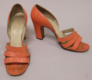 Primary view of object titled 'D'Orsay Pumps'.