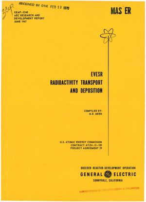 Primary view of object titled 'Evesr Radioactivity Transport and Deposition.'.
