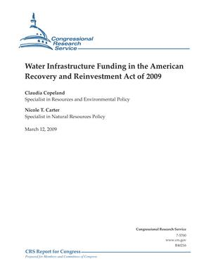 Water Infrastructure Funding in the American Recovery and Reinvestment Act of 2009