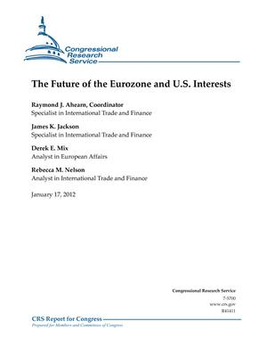 The Future of the Eurozone and U.S. Interests