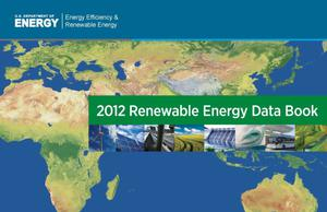 Primary view of object titled '2012 Renewable Energy Data Book (Book)'.