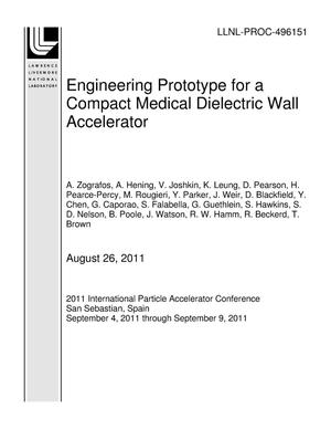 Primary view of object titled 'Engineering Prototype for a Compact Medical Dielectric Wall Accelerator'.