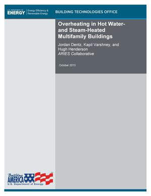 Primary view of object titled 'Overheating in Hot Water- and Steam-Heated Multifamily Buildings'.
