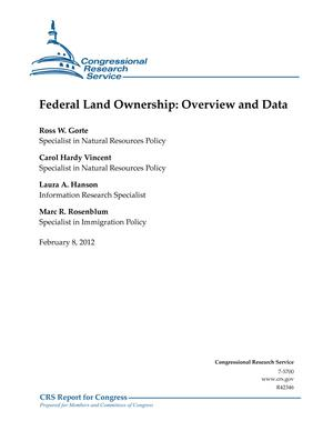 Federal Land Ownership: Overview and Data