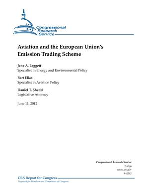 Aviation and the European Union's Emission Trading Scheme