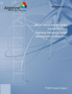 Primary view of object titled 'Wind Tunnel Model of the Turner-Fairbank Highway Research Center Aerodynamics Laboratory'.