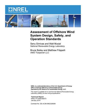 Primary view of object titled 'Assessment of Offshore Wind System Design, Safety, and Operation Standards'.