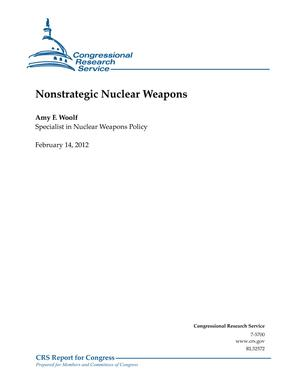 Nonstrategic Nuclear Weapons