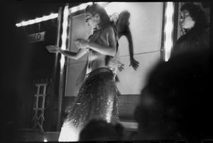 Primary view of object titled '[Burlesque dancer]'.