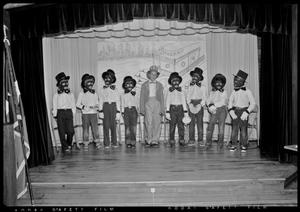 Primary view of object titled '[Kids performing in a blackface play]'.
