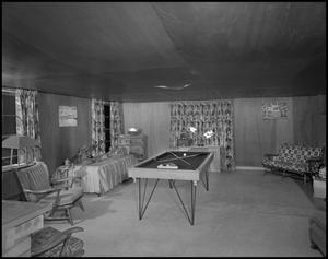 Primary view of object titled '[Rec room interior]'.