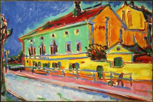 Primary view of object titled 'Houses in Dresden'.