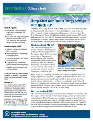 Primary view of object titled 'Jump-Start Your Plant's Energy Savings with Quick PEP (Plant Energy Profiler)'.