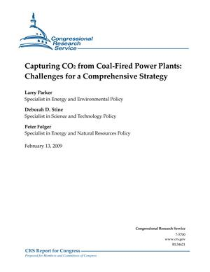 Capturing CO2 from Coal-Fired Power Plants: Challenges for a Comprehensive Strategy