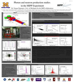 Primary view of object titled 'Photon and neutron productions studies in the MIPP experiment'.