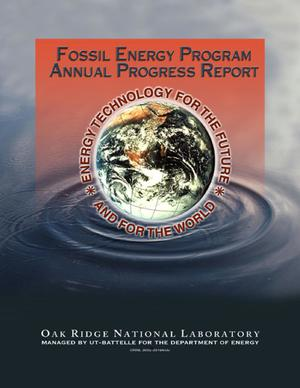 Primary view of object titled 'Fossil Energy Program Annual Progress Report for April 1, 2002, Through March 31, 2003'.