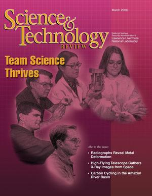 Primary view of object titled 'Science and Technology Review March 2006'.
