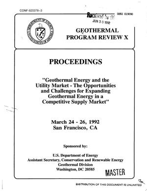 Primary view of object titled 'Taking the High Ground: Geothermal's Place in the Revolving Energy Market'.