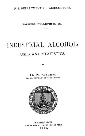 Primary view of object titled 'Industrial Alcohol: Uses and Statistics'.