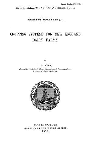 Primary view of Cropping Systems for New England Dairy Farms