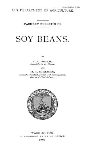 Primary view of object titled 'Soy Beans'.