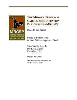Primary view of object titled 'The Midwest Regional Carbon Sequestration Partnership (MRCSP)'.
