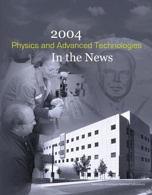 Primary view of object titled '2004 Physics and Advanced Technologies In the News'.