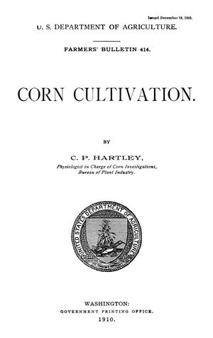 Primary view of Corn Cultivation