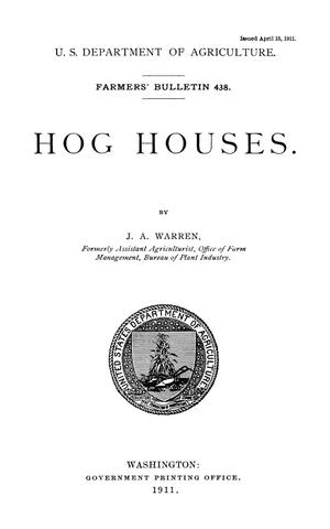 Primary view of Hog Houses