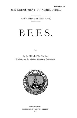 Primary view of object titled 'Bees'.
