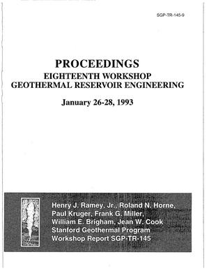 Primary view of object titled 'Numerical modeling of injection experiments at The Geysers'.