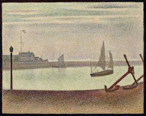 Primary view of object titled 'Channel at Gravelines, Evening'.