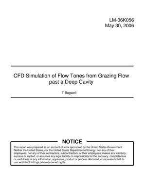Primary view of object titled 'CFD Simulation of Flow Tones from Grazing Flow past a Deep Cavity'.