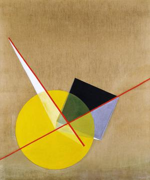 Primary view of object titled 'Yellow Circle'.