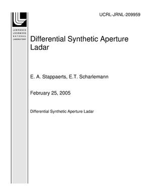 Primary view of object titled 'Differential Synthetic Aperture Ladar'.