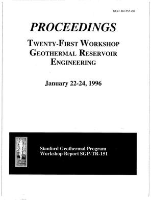 Primary view of object titled 'Preliminary analysis of the use of electrical resistance tomography for injectate tracking at the Geysers geothermal field'.
