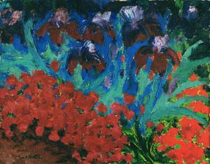 Primary view of object titled 'Flowers'.