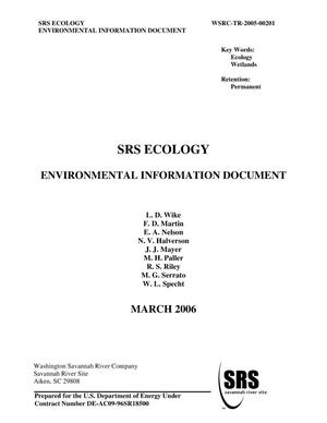 Primary view of object titled 'SRS ECOLOGY ENVIRONMENTAL INFORMATION DOCUMENT'.