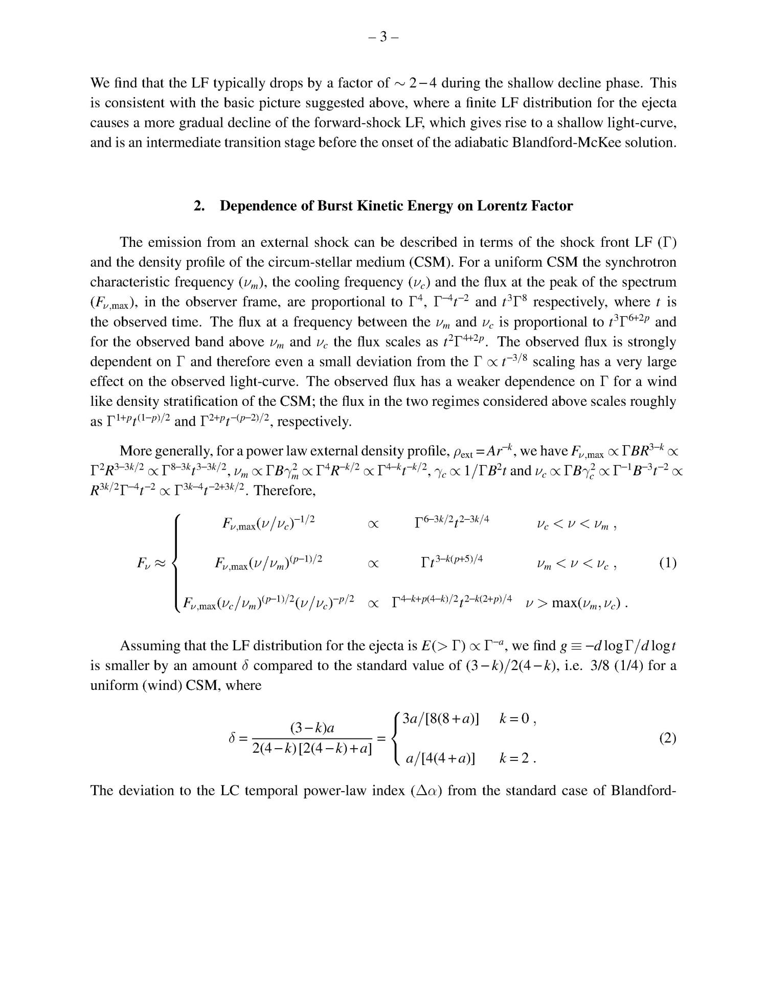 Distribution of Gamma-ray Burst Ejecta Energy with Lorentz Factor                                                                                                      [Sequence #]: 3 of 8