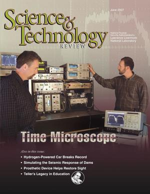 Primary view of object titled 'Science & Technology Review June 2007'.