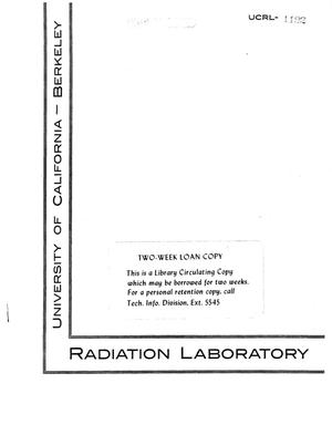 Primary view of object titled 'Reduction of Carbon Dioxide inAqueous Solutions by IonizingRadiation'.