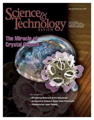 Primary view of object titled 'Science and Technology Review January/February 2006'.