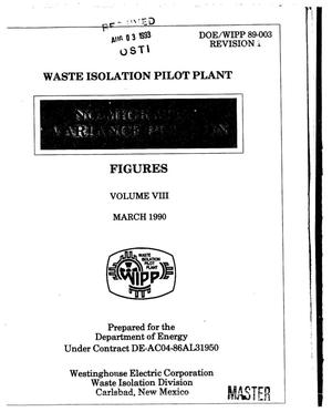 Primary view of object titled 'Waste Isolation Pilot Plant: No-Migration Variance Petition. Figures: Volume 8, Revision 1'.