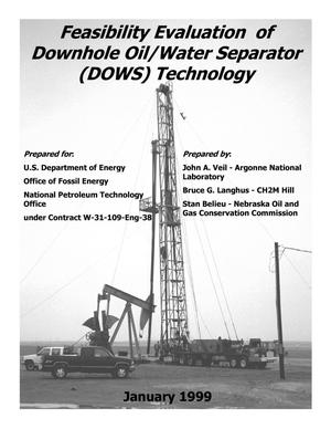 Primary view of object titled 'Feasibility evaluation of downhole oil/water separator (DOWS) technology.'.