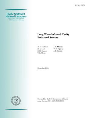 Primary view of object titled 'Long Wave Infrared Cavity Enhanced Sensors'.