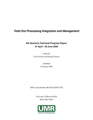 Primary view of object titled 'Total Ore Processing Integration and Management'.